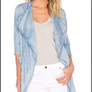 James Jeans medium tencel open Jean Jacket